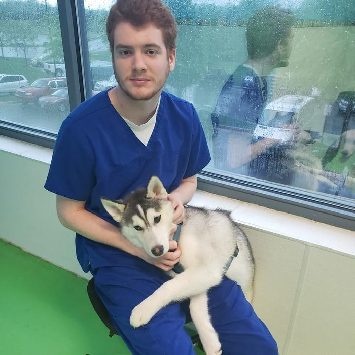 Skyler Boryschuk, Kennel Attendant  photo